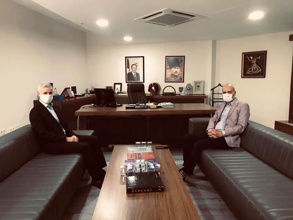 Bursa Milletvekilimiz Sayın Zafer Işık Genel Müdürümüz'ü Ziyaret Etti