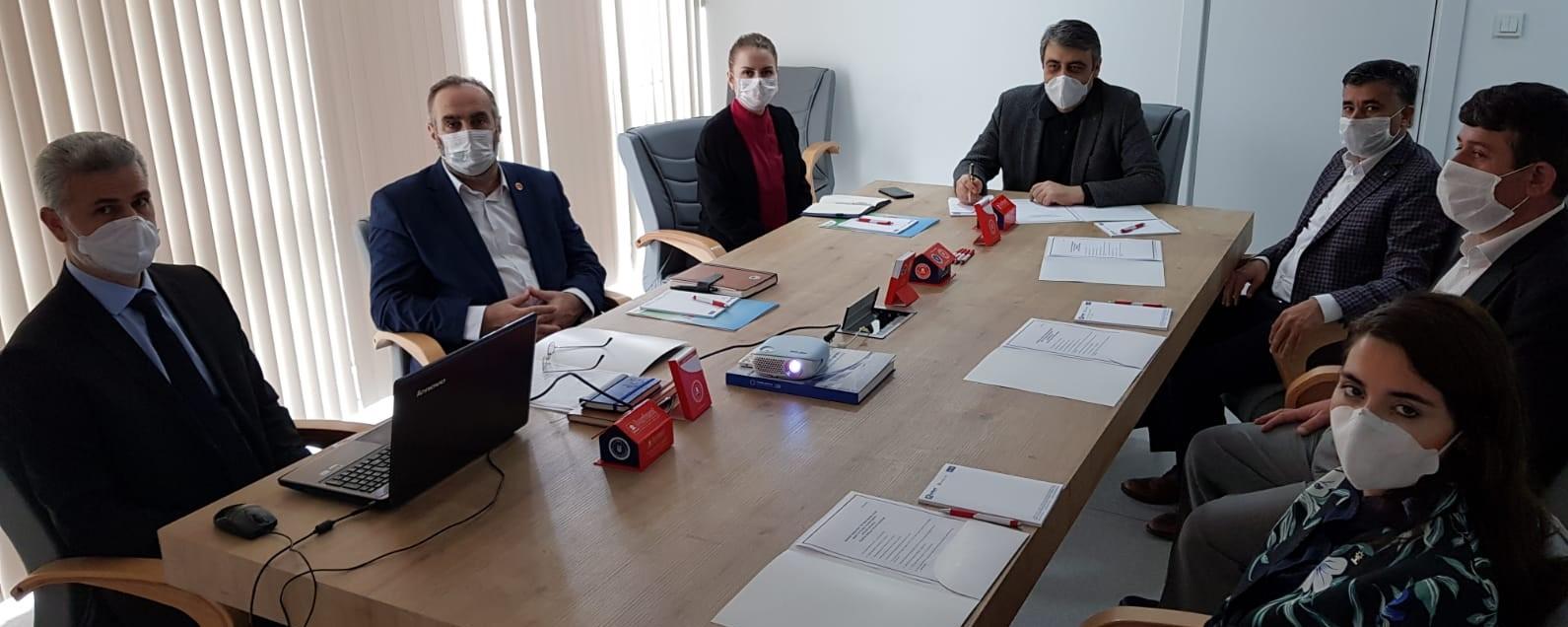 Mayıs ayı Yönetim kurulu toplantısı