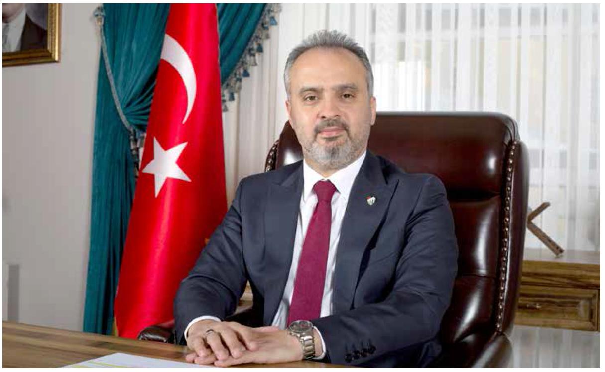 Alinur AKTAŞ | Bursa Büyükşehir Belediye Başkanı