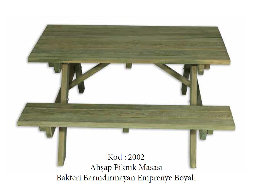 Ahşap Piknik Masası (2002)