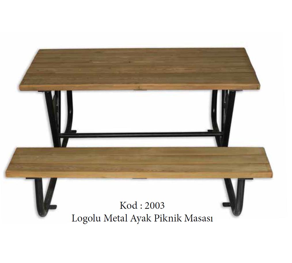 Metal Ayak Piknik Masası (2003)